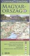Magyarország idegenforgalmi térkép 1:450 000