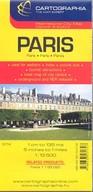 Párizs várostérkép (1:13 500) /Külföldi várostérkép