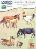 Logico Piccolo: Ismeretek 1-2. osztály (házi-, hobbi- és vadon élő állatok) /Feladatkártyák