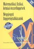 Négyjegyű függvénytáblázatok - matematikai, fizikai, kémiai összefüggések /Nat 2012. (nt-15129/nat)